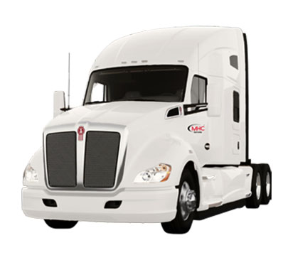 Lease a Kenworth T680 sleeper from MHC Truck Leasing
