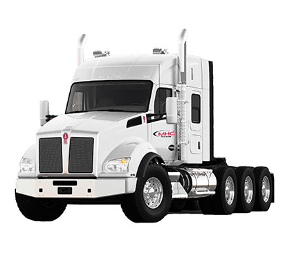 Lease a Kenworth T880 sleeper from MHC Truck Leasing