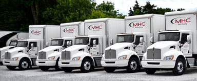 Rent a truck with MHC Truck Leasing