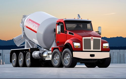 Kenworth T880S Twin Steer Truck